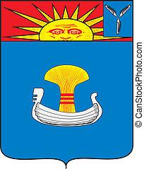Balakovo city coa - Various vector flags, state symbols,...