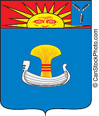 Balakovo city coa - Various vector flags, state symbols, ...