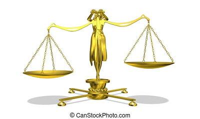 balance and woman