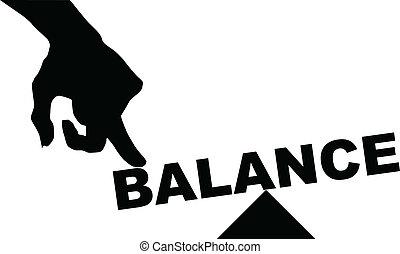 balance, concepto