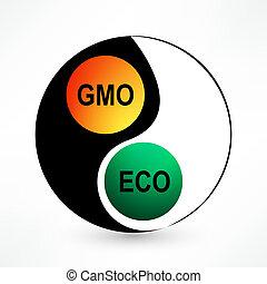 balance environmental and GMO