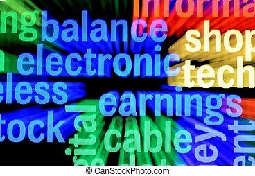 balance, ganancias, electonic