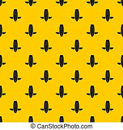 Balance vehicle pattern seamless repeat geometric yellow for...
