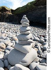 balanced cliffs rocks