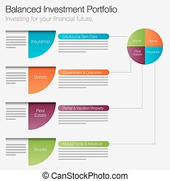 Balanced Investment Portfolio Icon