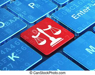 balances, informatique, fond, clavier, droit & loi, concept: