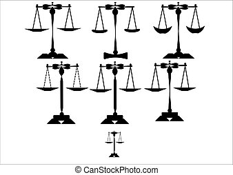 balances justice, ensemble