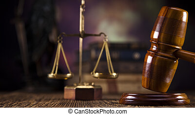 balances justice, marteau