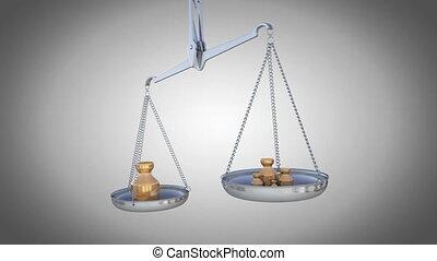 balances poids
