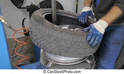 Balancing and Changing tires