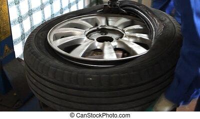 balancing car wheel