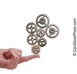 Balancing gears