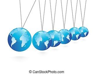 Balancing spheres