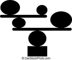 Balancing stones icon