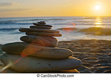 Balancing sunrise