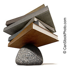 Balancing The Books On A Rock