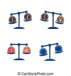 balans, pictogram
