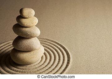 balansering, stenar