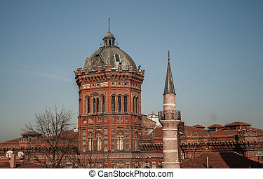 Balat the Fener Greek Patriarchate in Istanbul, Turkey