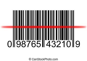 balayage, barcode