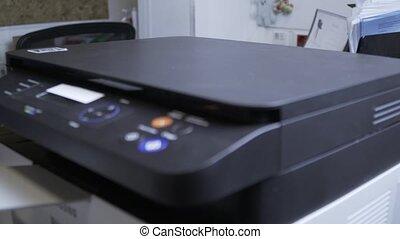 balayage, documents, scanner