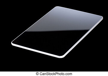 Balck tablet isolated