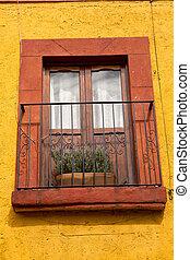 balcon, espagnol
