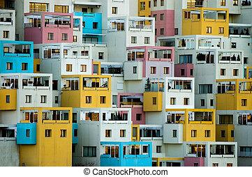 Apartments building in Ankara turkey