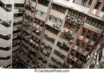 Balconies - Hong Kong City, Asia