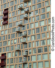 Balconies & windows, Portland OR.