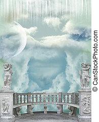 Balcony in the sky
