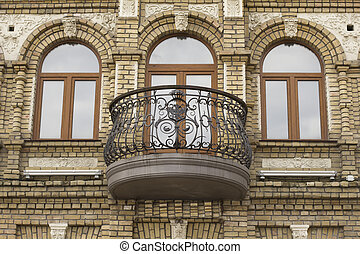 balcony on a private building