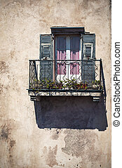 balcony window