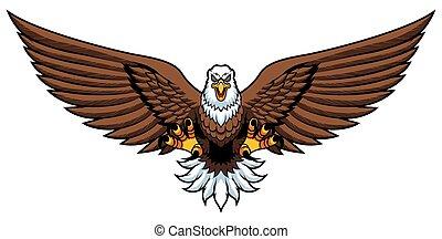 Bald Eagle Attack Mascot