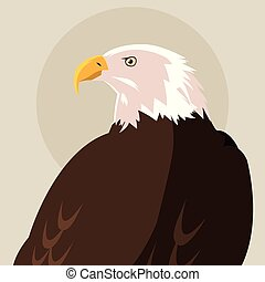 bald eagle bird icon