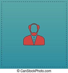 Bald Man computer symbol
