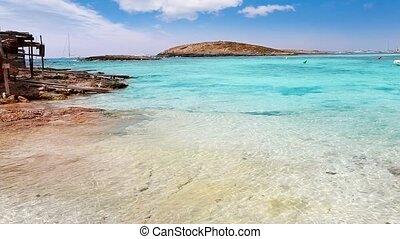 Balearic formentera island beach - Balearic formentera...
