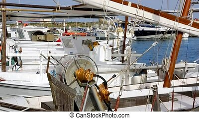 Balearic islands Formentera boat