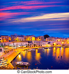 balearics, mahon, polices, cales, calasfonts, coucher...
