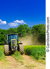 baler, traktor