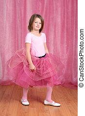 balerina, kicsi lány