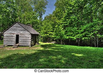 Bales Farmhouse from rear side