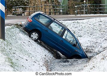 baleset, tél