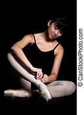 balett tofflor