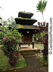 BALI - JANUARY 2: Pura Luhur Batukaru temple on JANUARY 2,...