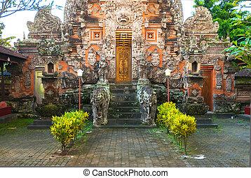 Bali temple complex