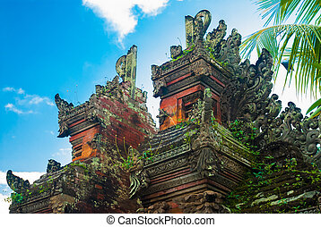 Bali temple gate