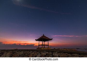 Bali Veranda and Sunrise