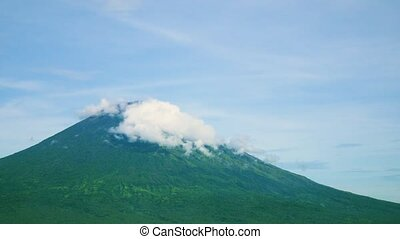 Bali Volcano Mount Agung. Indonesia