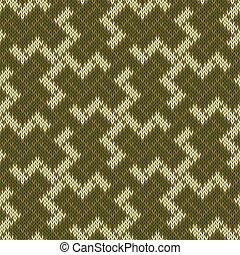 balinais, ancien, modèle, symbole, seamless, tricoté, sacré, laine, swastika.